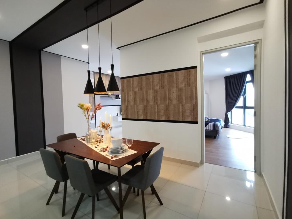 Scandinavian, Condo, Dining Room, Vivo Seputeh (D), Old Klang Road, Interior Designer, Ingenious Makeover