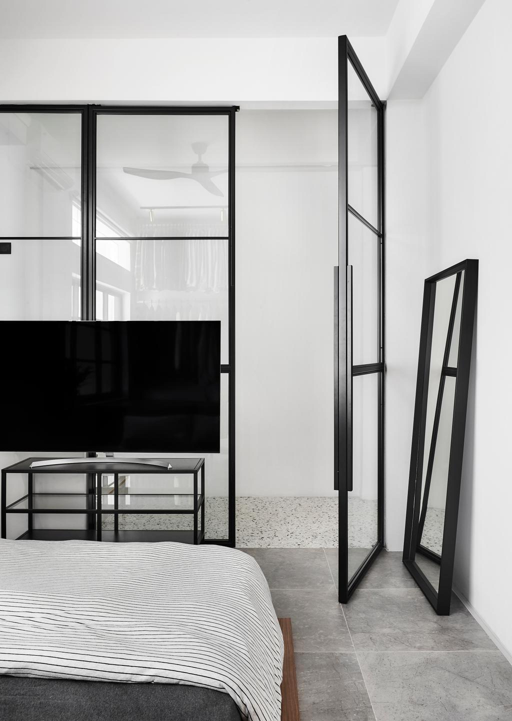 Contemporary, HDB, Bedroom, Tiong Poh Road, Interior Designer, Third Avenue Studio