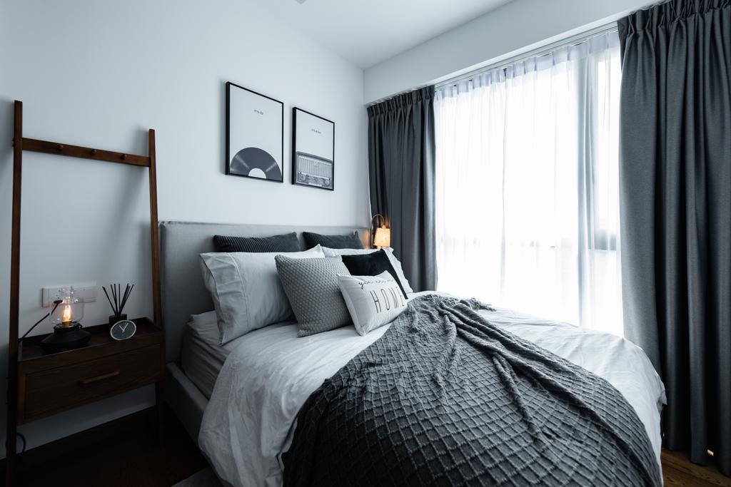Contemporary, Condo, Bedroom, Kingsford Waterbay, Interior Designer, 19 Eighty Three