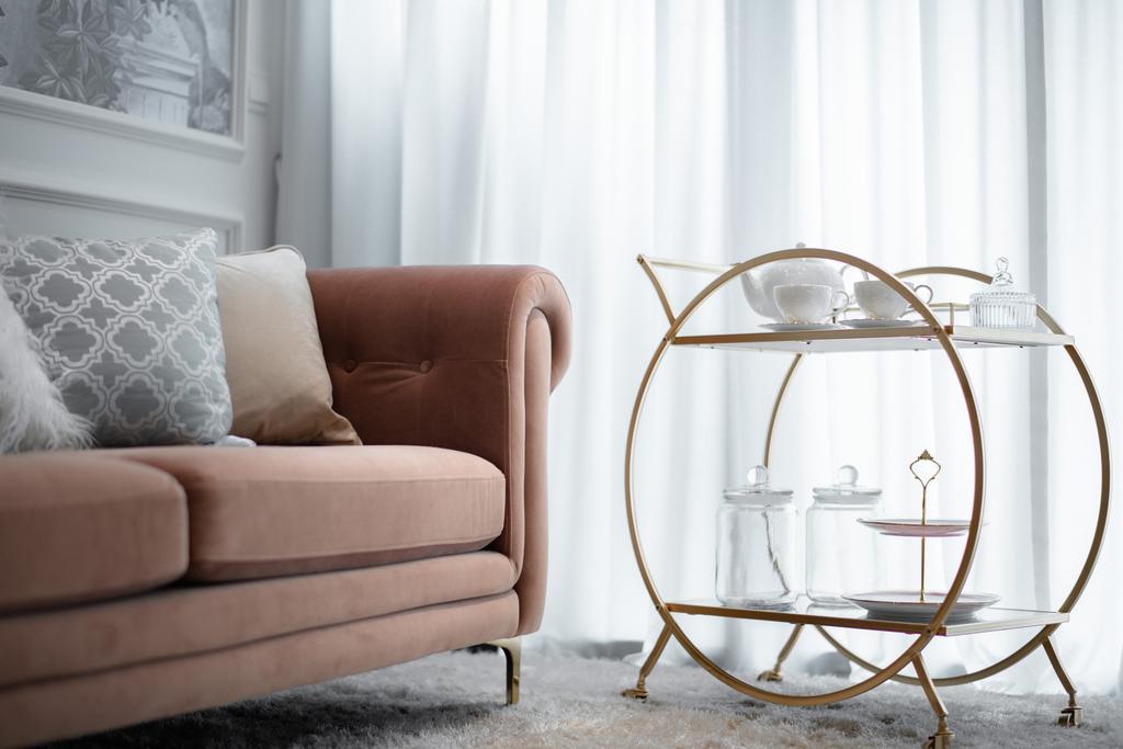 Contemporary, Condo, Living Room, Kingsford Waterbay, Interior Designer, 19 Eighty Three