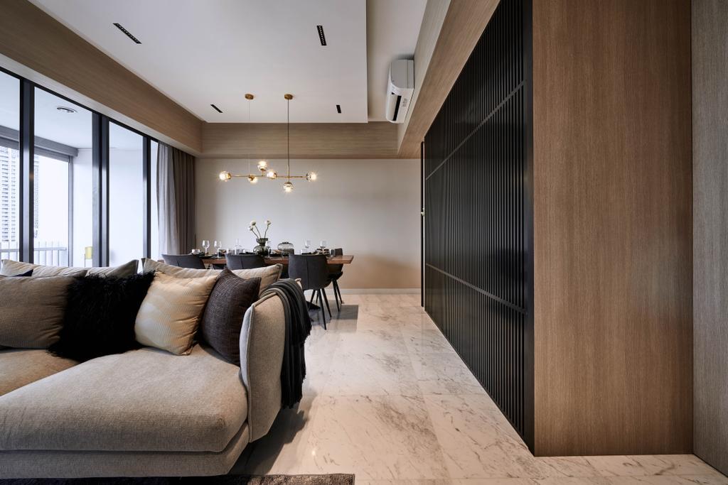 Contemporary, Condo, Living Room, The Arte, Interior Designer, 19 Eighty Three