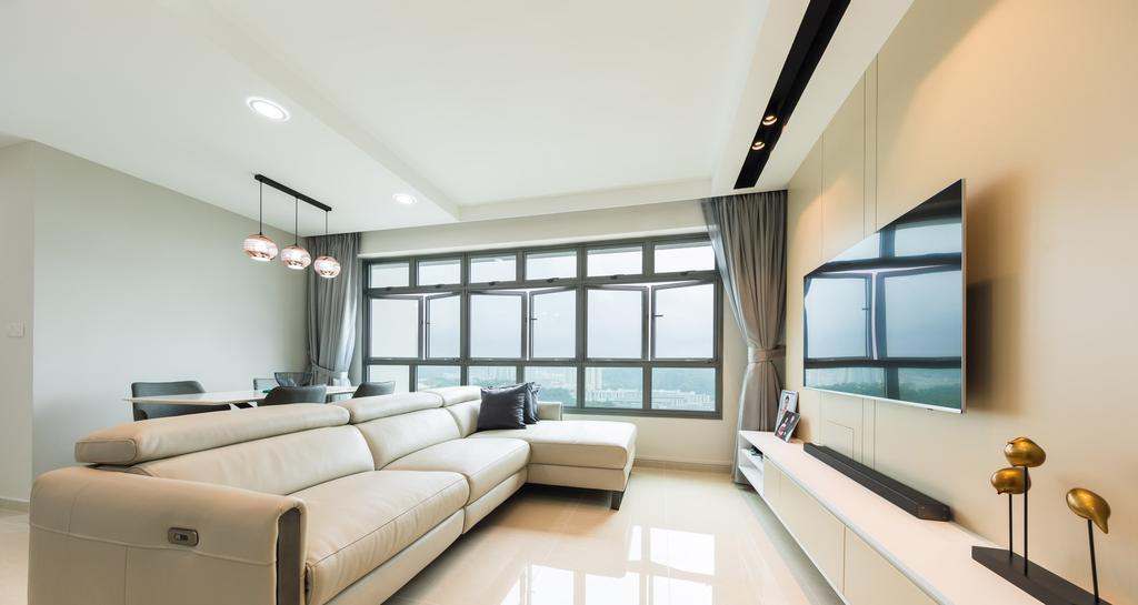 Modern, HDB, Living Room, Bukit Batok Street 21, Interior Designer, Space N Living