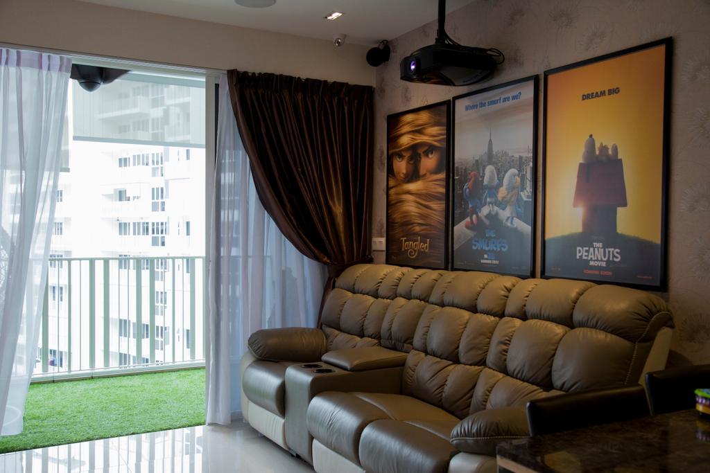 Modern, Condo, Living Room, Forestville, Interior Designer, Ataz Haus Interior Design