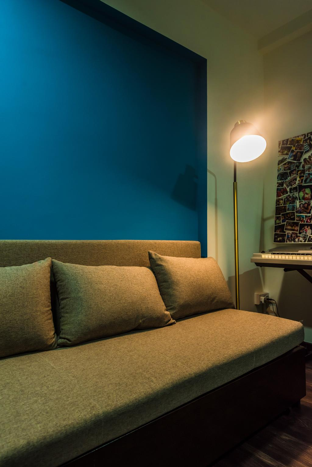 Contemporary, HDB, Serangoon Central, Interior Designer, Design Story