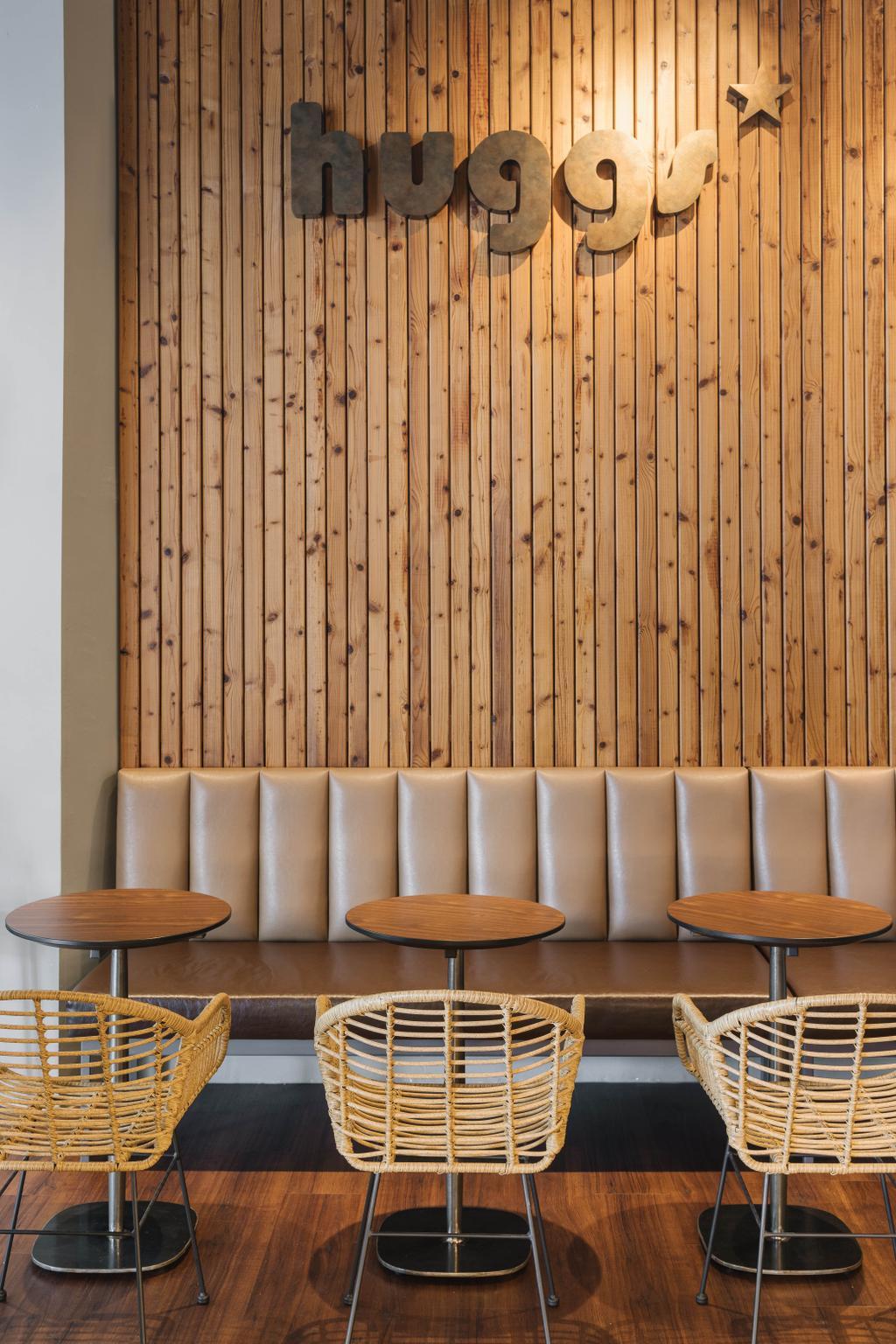 Huggs Coffeebar @ Millenia Walk, Commercial, Interior Designer, LS2 Design & Construction, Contemporary