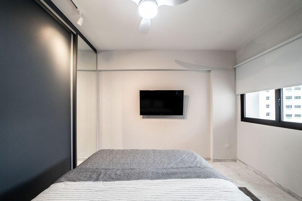 Contemporary, HDB, Bedroom, Bedok North Road, Interior Designer, Luova Project Services
