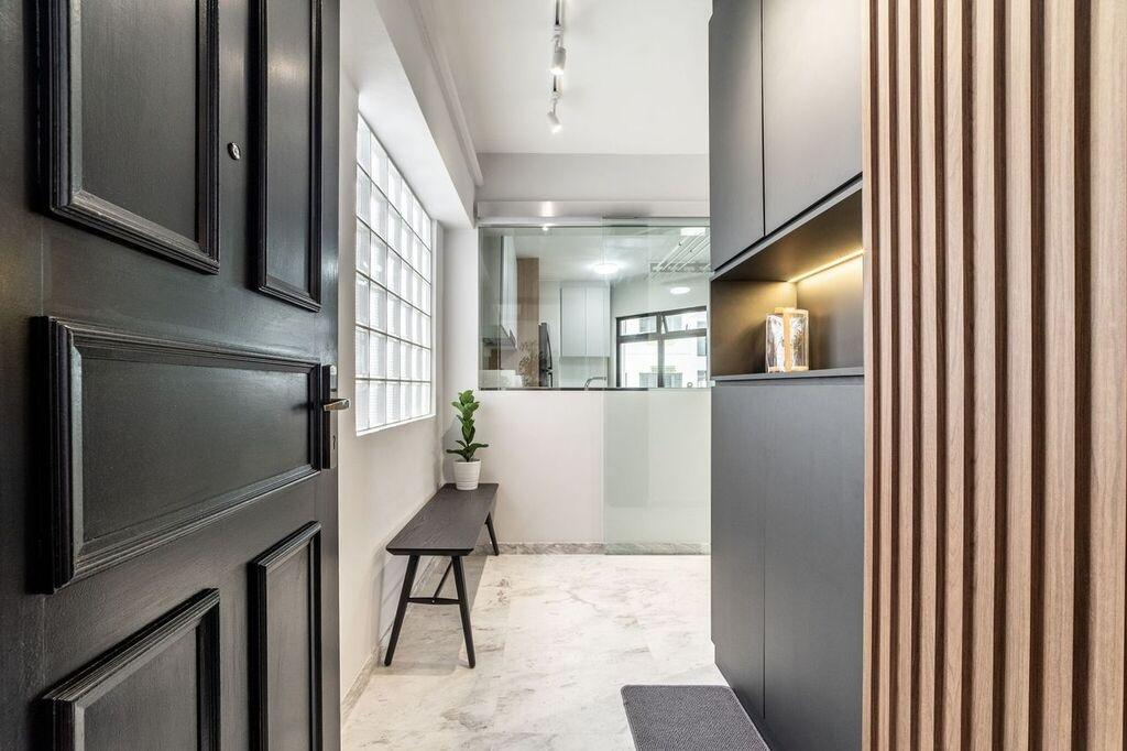 Contemporary, HDB, Bedok North Road, Interior Designer, Luova Project Services