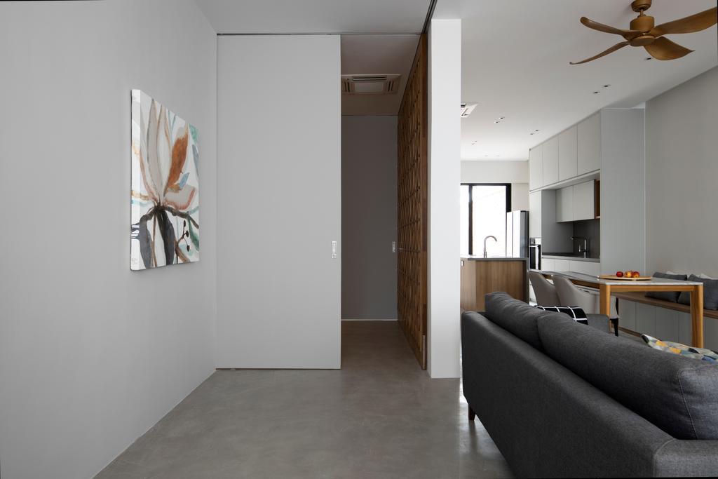 Modern, Condo, Living Room, Stangee Place, Interior Designer, Design by Fifteen Pte Ltd, Minimalistic
