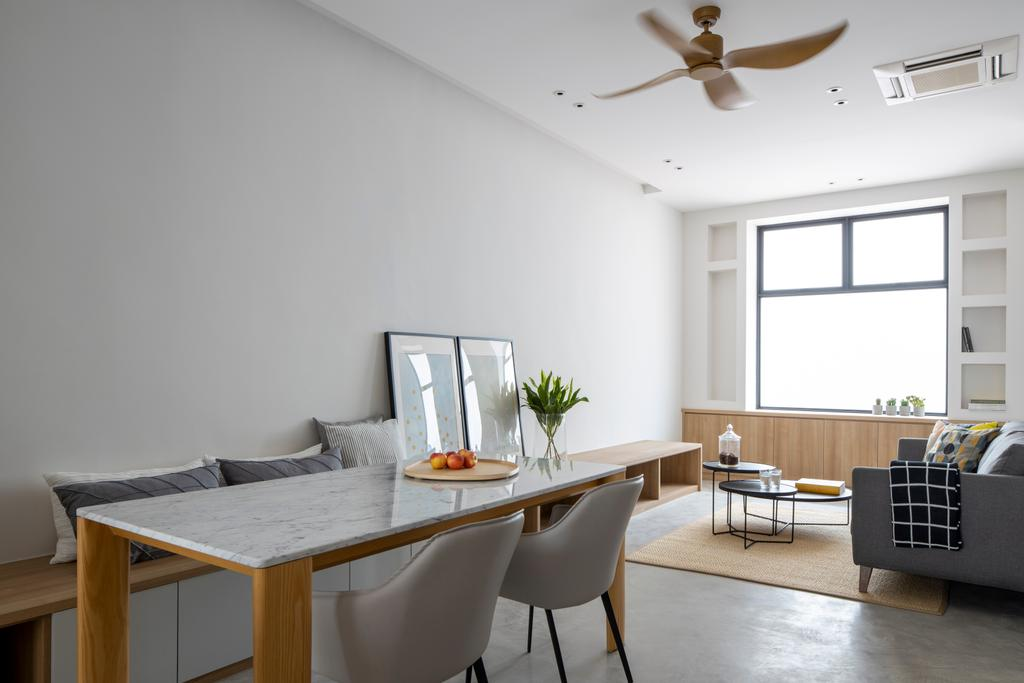 Modern, Condo, Dining Room, Stangee Place, Interior Designer, Design by Fifteen Pte Ltd, Minimalistic
