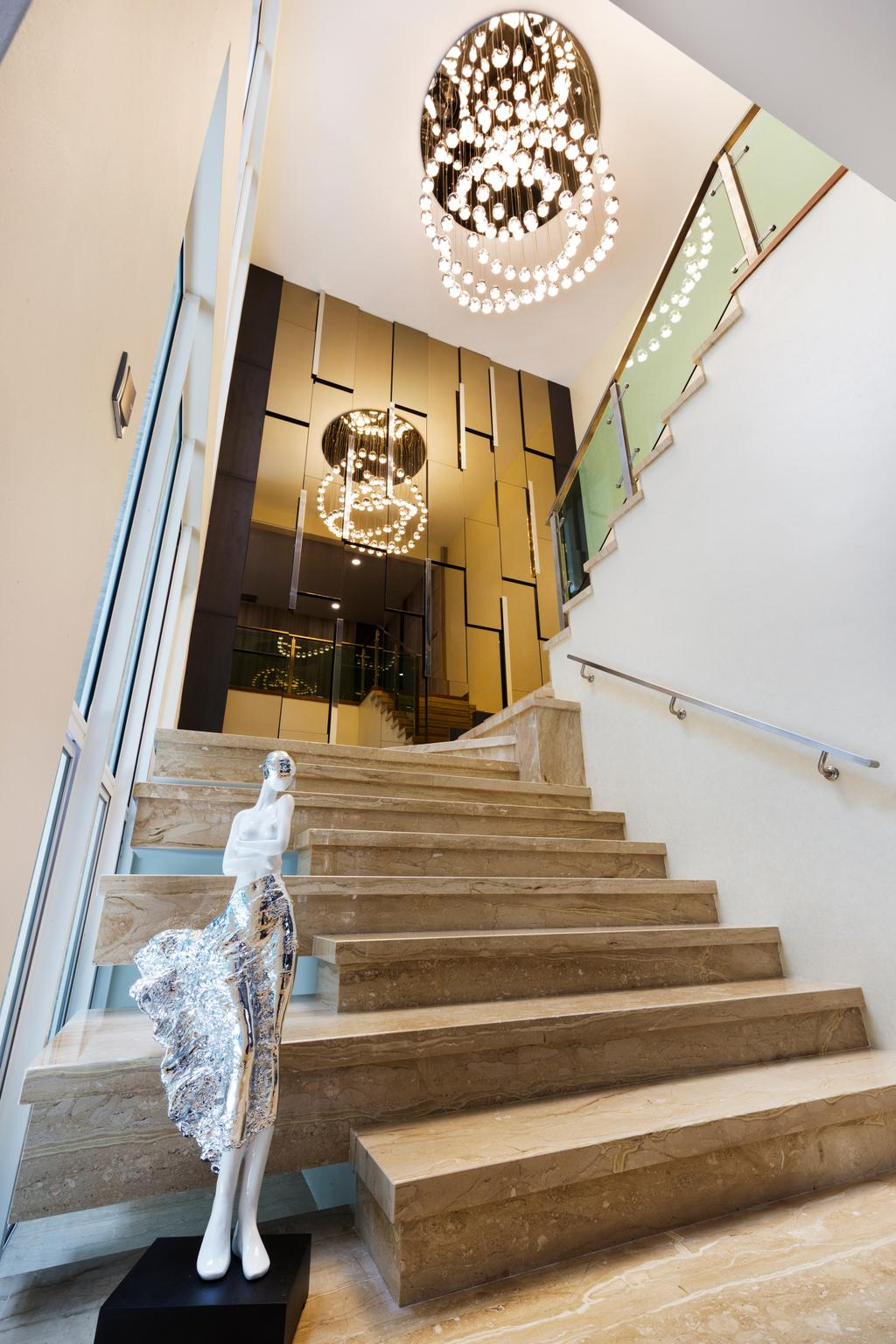 Modern, Landed, Damai Impian, KL, Interior Designer, Urban Designs Studio Sdn. Bhd., Contemporary