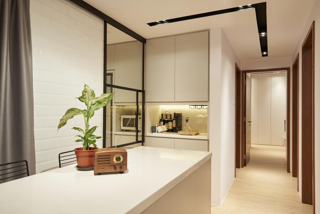Contemporary, Condo, Regency Suites, Interior Designer, Renolux Interior