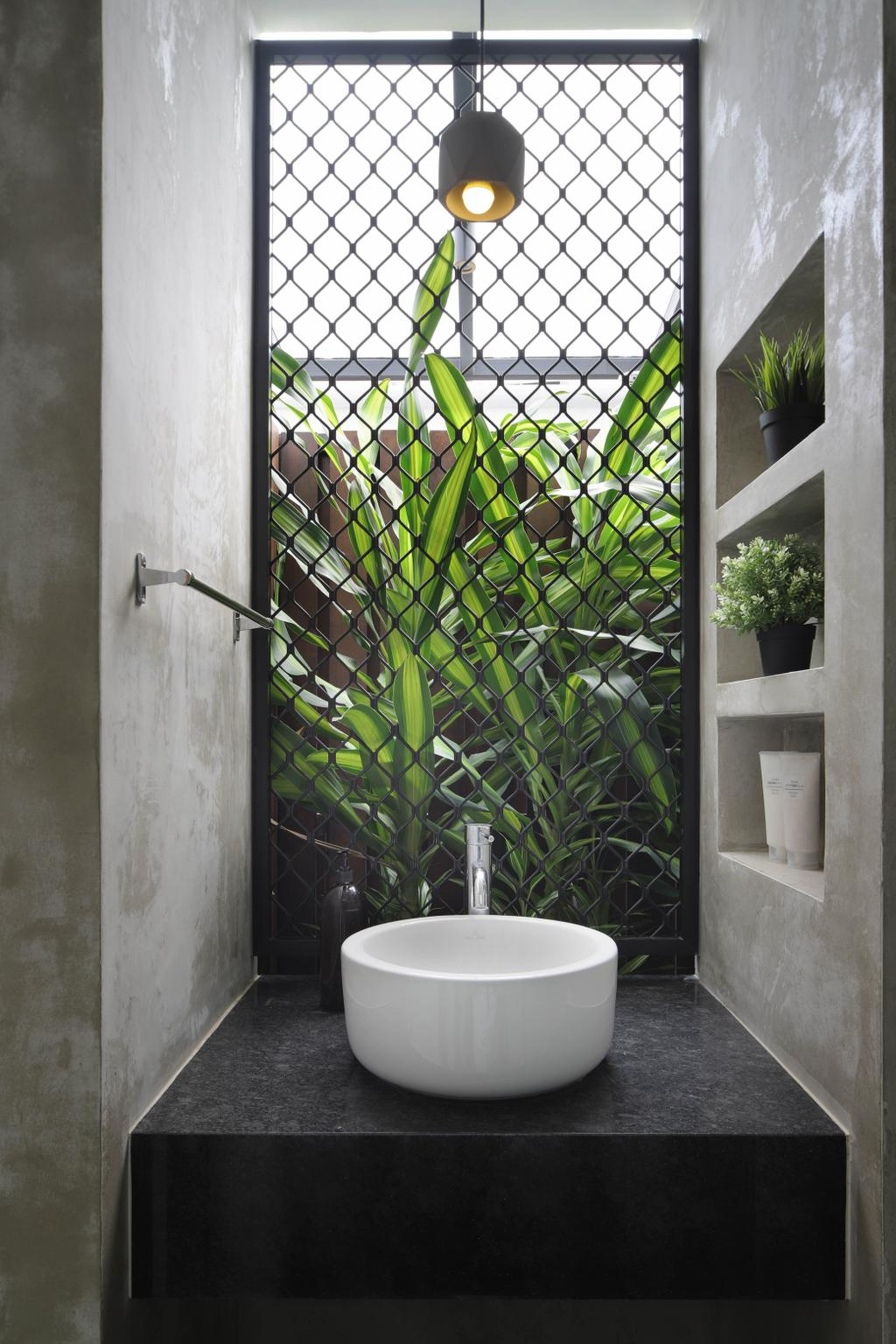 Contemporary, Landed, Bathroom, Lor Melayu, Interior Designer, The Design Abode