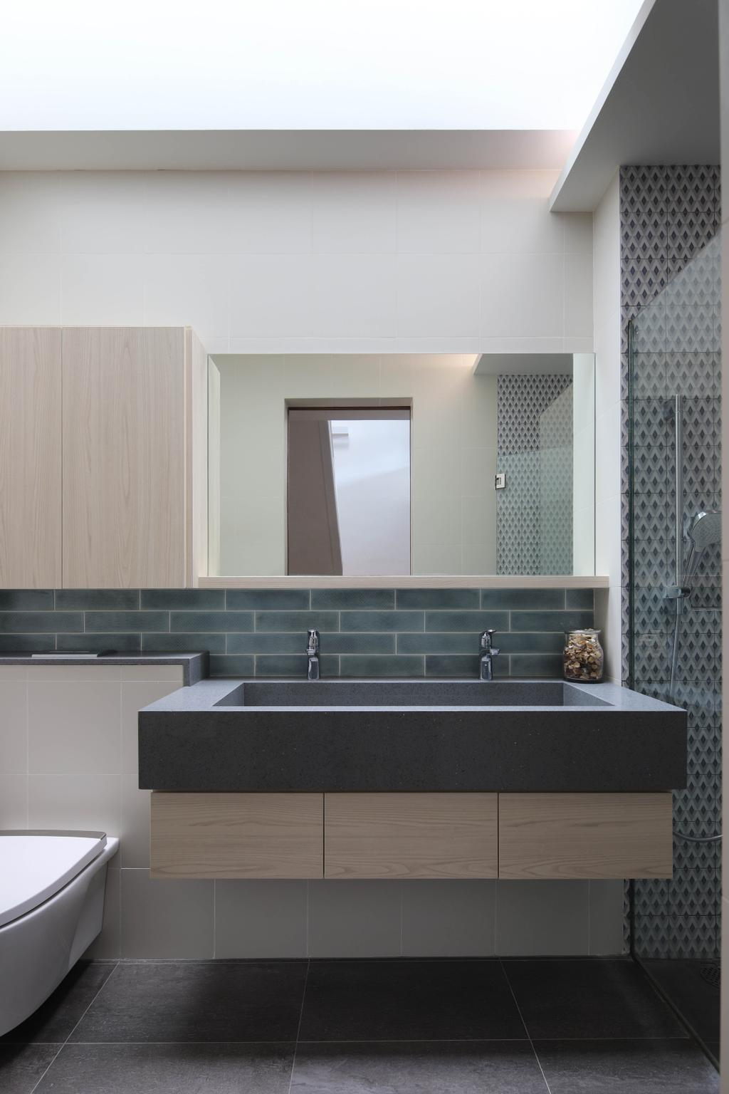 Contemporary, Landed, Bathroom, Lor Melayu, Interior Designer, The Design Abode