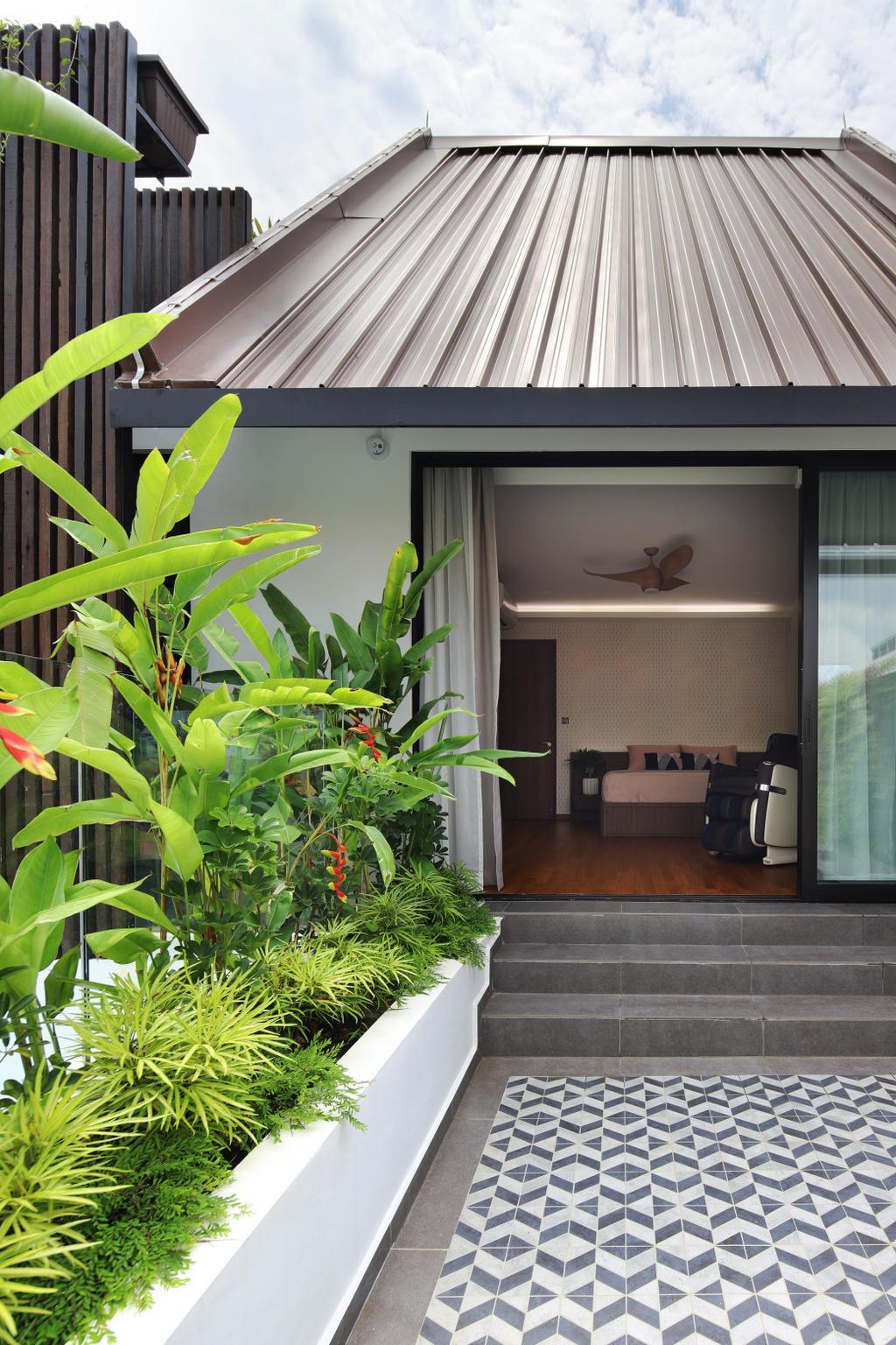 Contemporary, Landed, Balcony, Lor Melayu, Interior Designer, The Design Abode