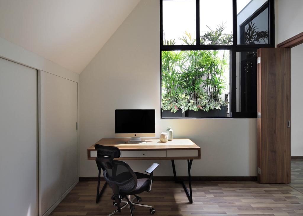 Contemporary, Landed, Study, Lor Melayu, Interior Designer, The Design Abode