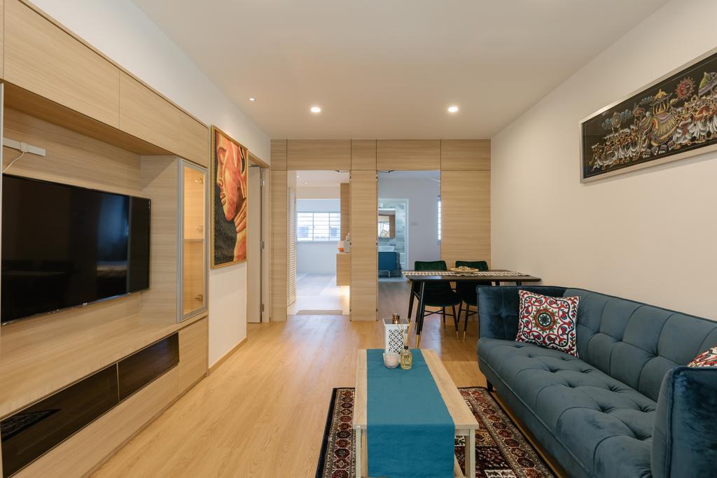 Contemporary, HDB, Living Room, Tampines Street 21, Interior Designer, Swiss Interior Design