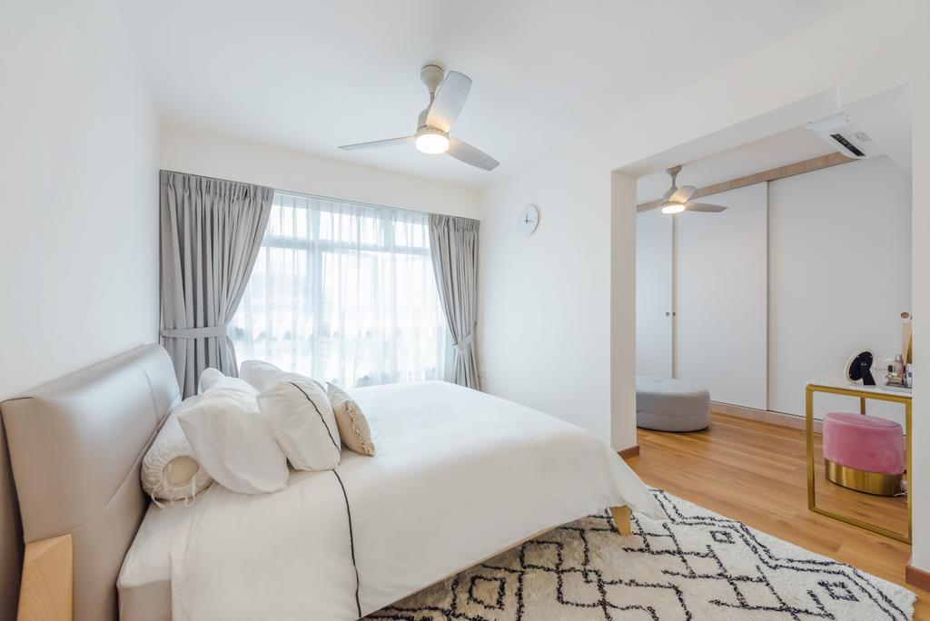 Scandinavian, HDB, Bedroom, Tampines North Drive 1, Interior Designer, Archive Design