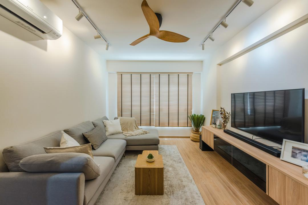 Tampines North Drive 1 Living Room Interior Design 8