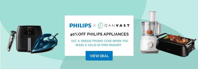 40% off all Philips products