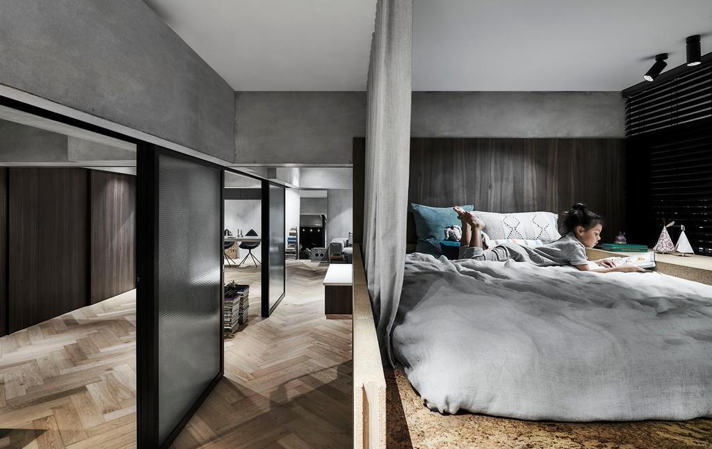 Contemporary, Condo, Bedroom, Spottiswoode Park, Interior Designer, IN-EXPAT