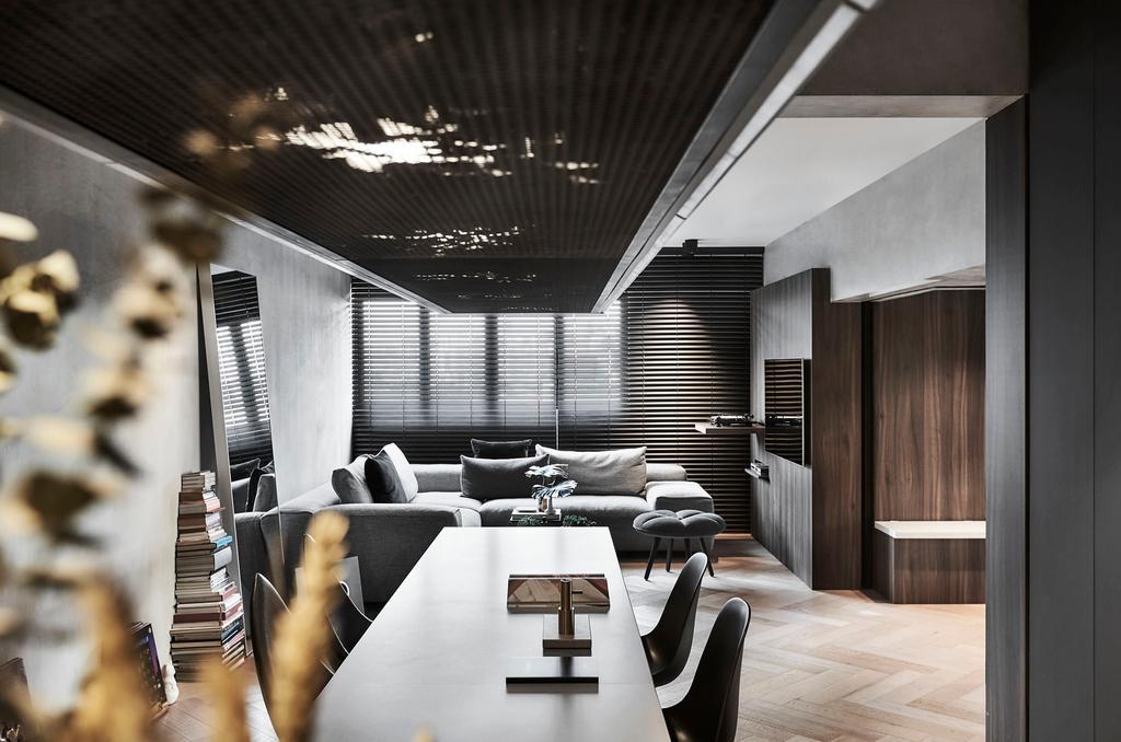 Contemporary, Condo, Living Room, Spottiswoode Park, Interior Designer, IN-EXPAT
