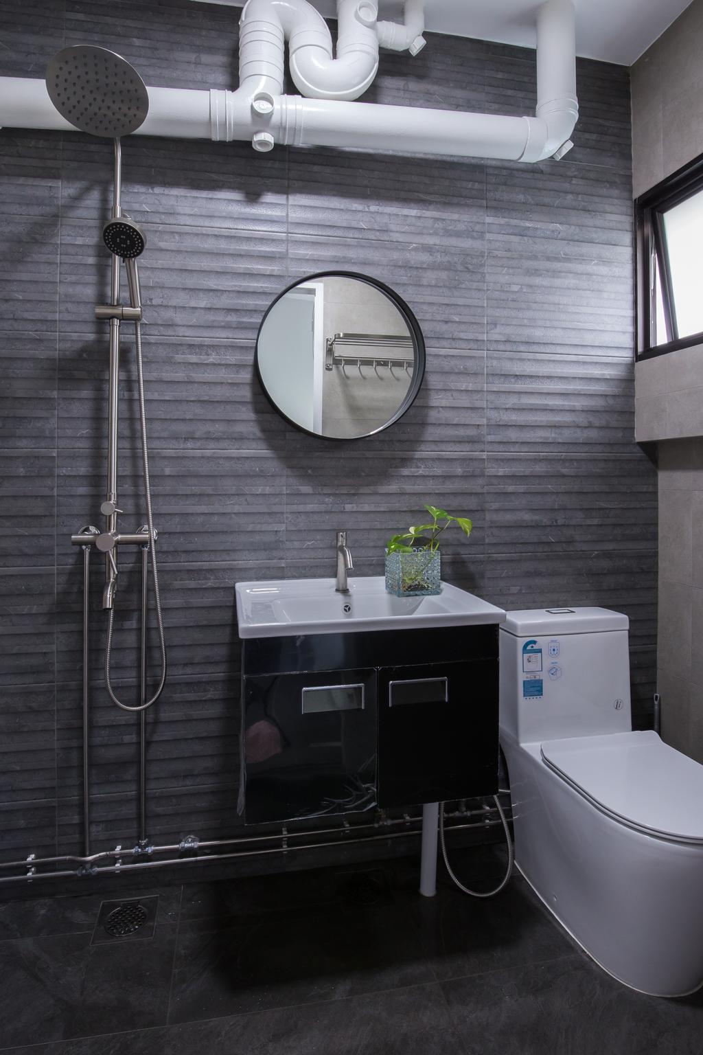 Contemporary, HDB, Kang Ching Road, Interior Designer, SHE Interior, Modern