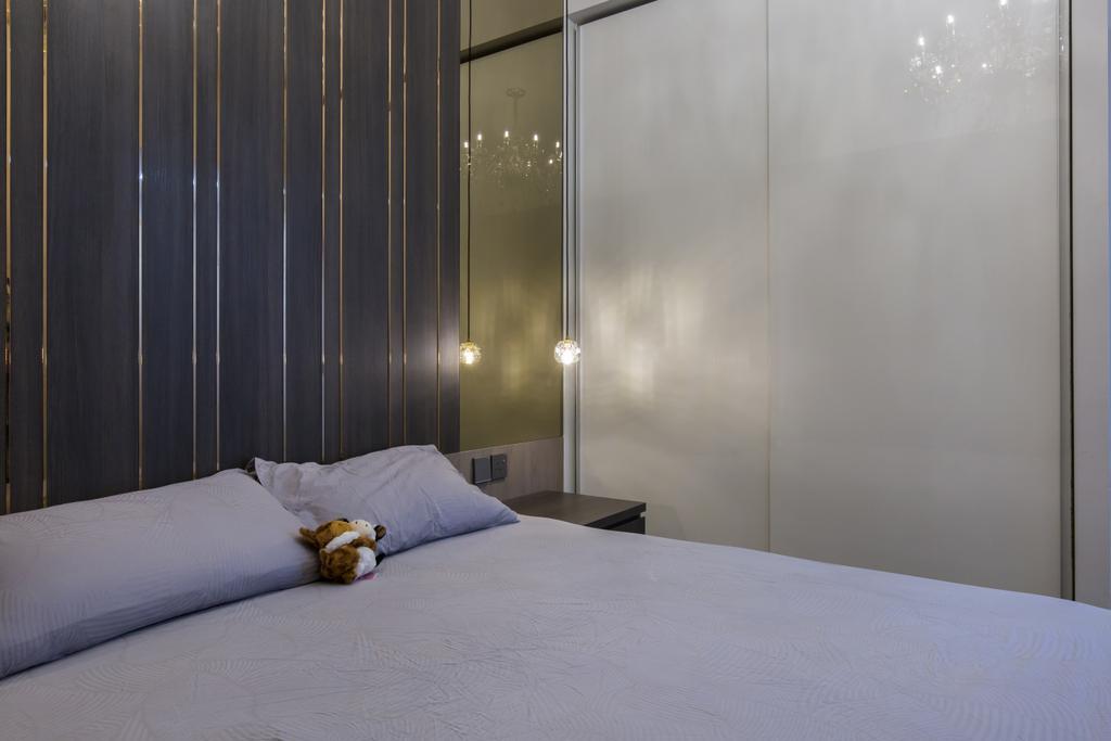 Contemporary, Condo, Bedroom, The Luxurie, Interior Designer, Sense & Semblance, Modern