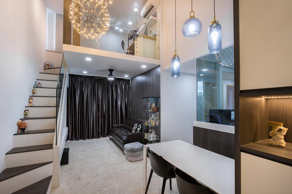 Contemporary, Condo, Living Room, The Luxurie, Interior Designer, Sense & Semblance, Modern
