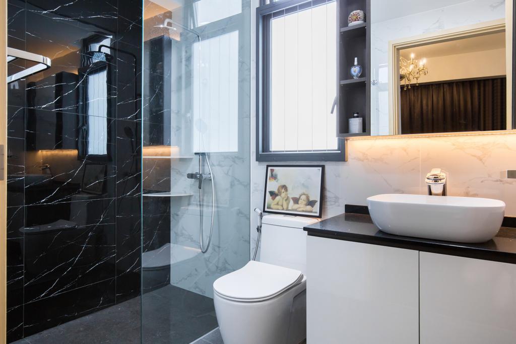 Contemporary, Condo, The Luxurie, Interior Designer, Sense & Semblance, Modern