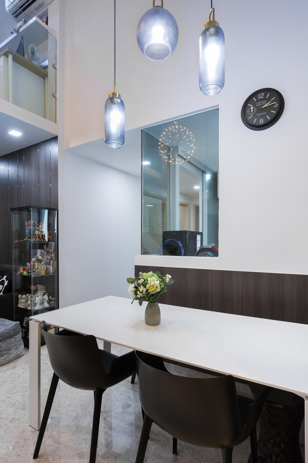 Contemporary, Condo, Dining Room, The Luxurie, Interior Designer, Sense & Semblance, Modern