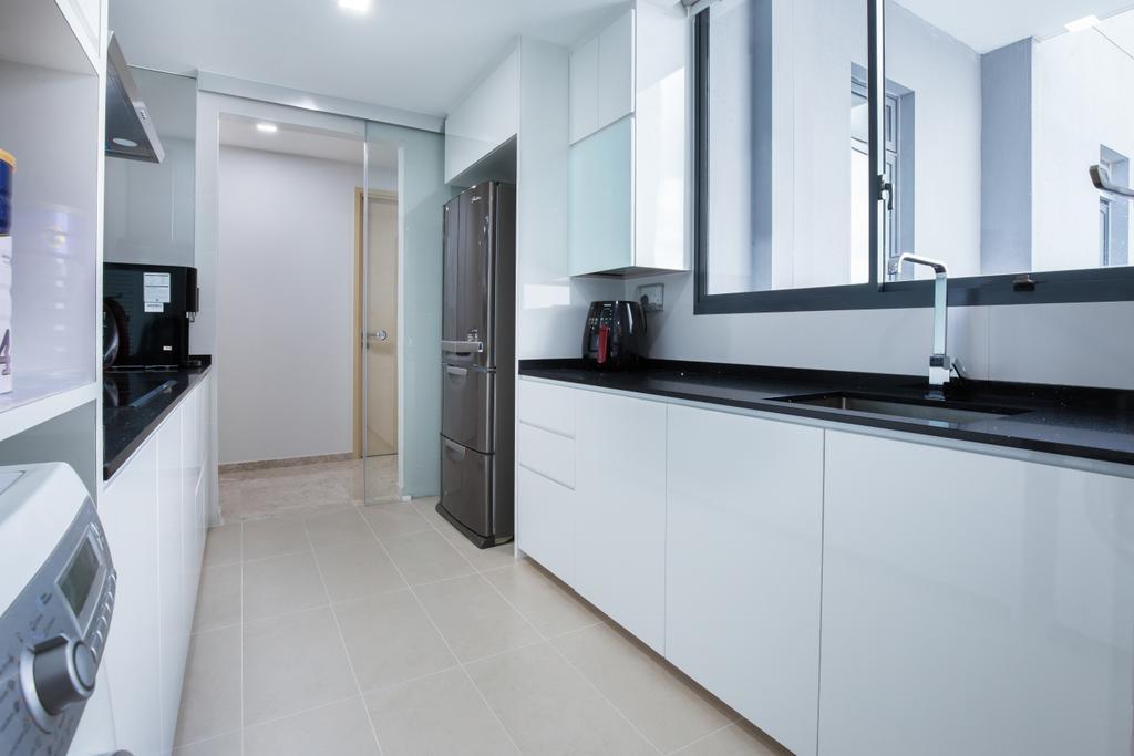 Contemporary, Condo, Kitchen, The Luxurie, Interior Designer, Sense & Semblance, Modern