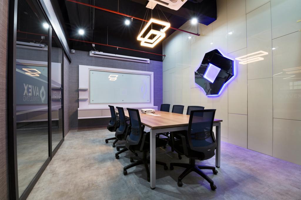 Avex, Bangsar South, Commercial, Interior Designer, Urban Designs Studio Sdn. Bhd., Modern