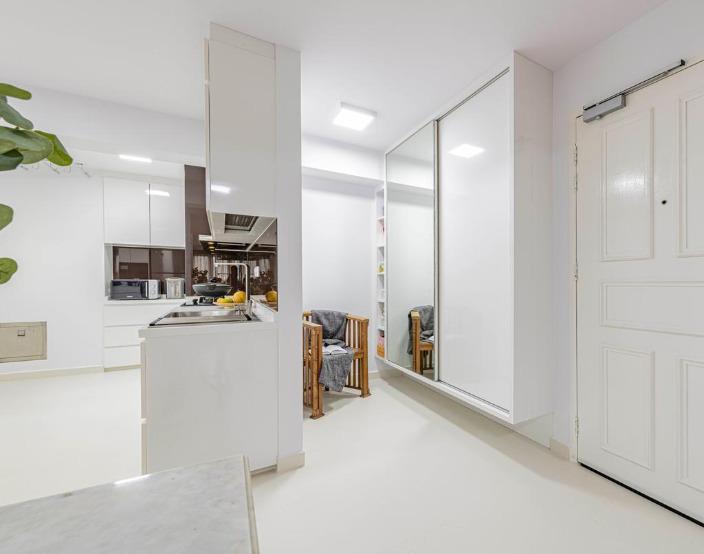 Minimalistic, HDB, Ah Hood Road, Interior Designer, Posh Living Interior Design