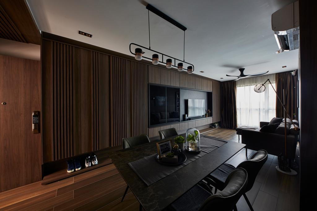 Contemporary, HDB, Dining Room, Fernvale Road, Interior Designer, The Interior Lab