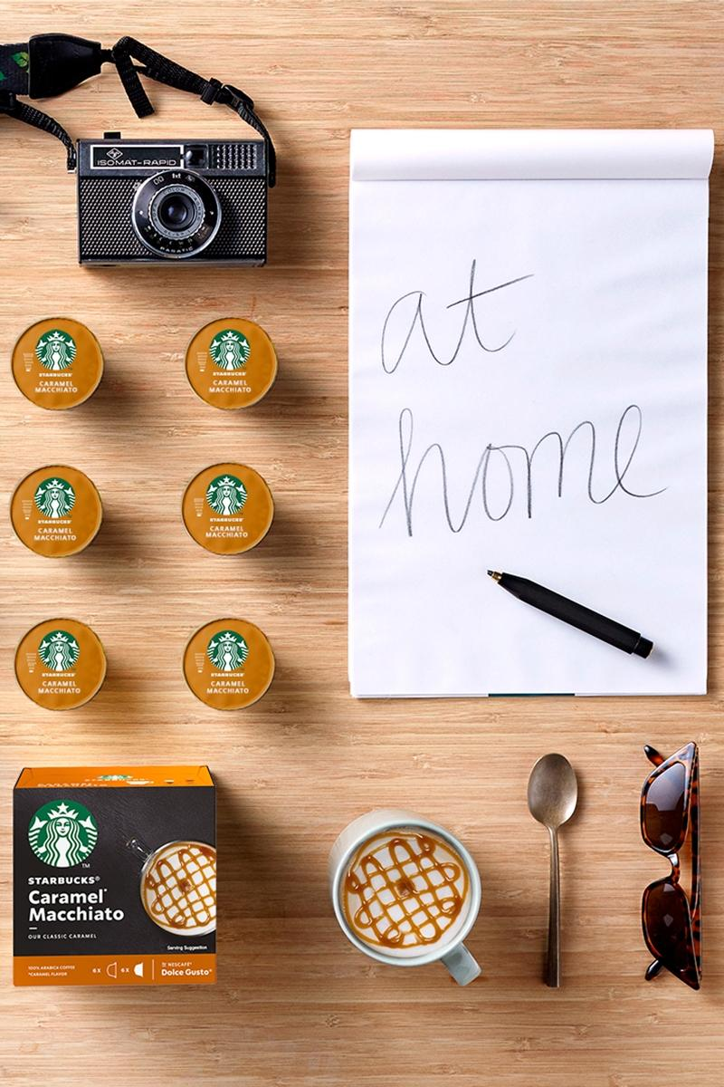 starbucks coffee nescafe nespresso capsules
