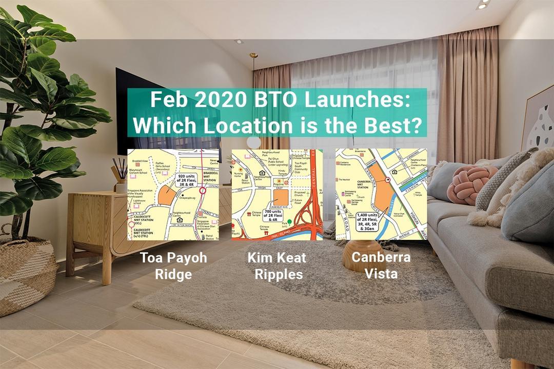 BTO Flat February 2020 Toa Payoh Sembawang