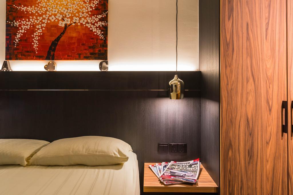 Contemporary, HDB, Bedroom, Sembawang Drive, Interior Designer, Tan Studio, Modern