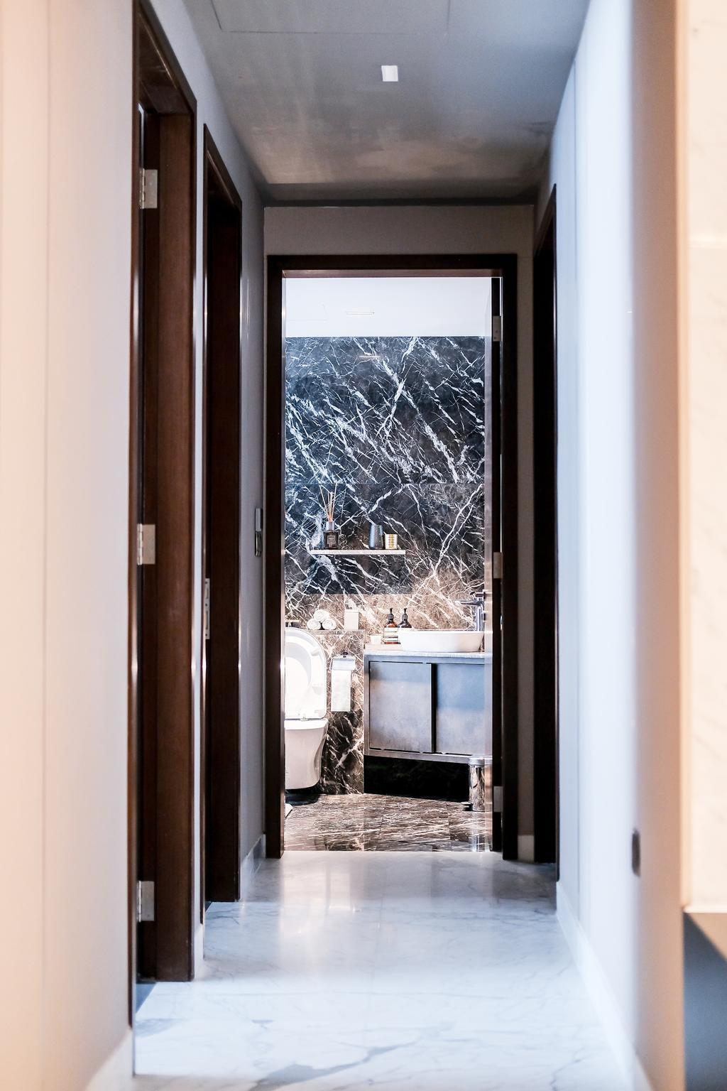 Contemporary, Condo, Bathroom, East Coast Road, Interior Designer, PHD Posh Home Design, Modern