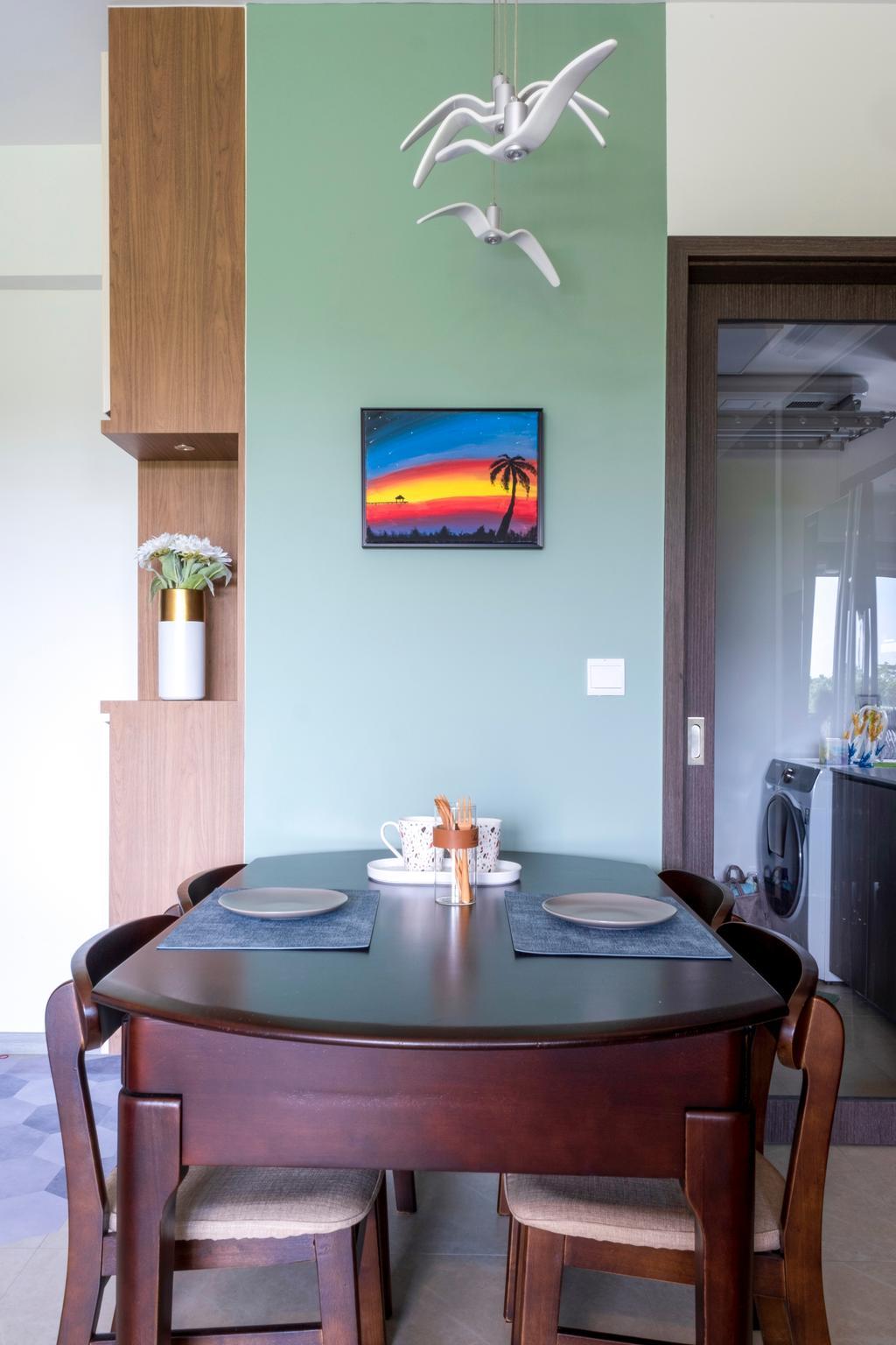 Scandinavian, Condo, Dining Room, iNz Residence, Interior Designer, Starry Homestead