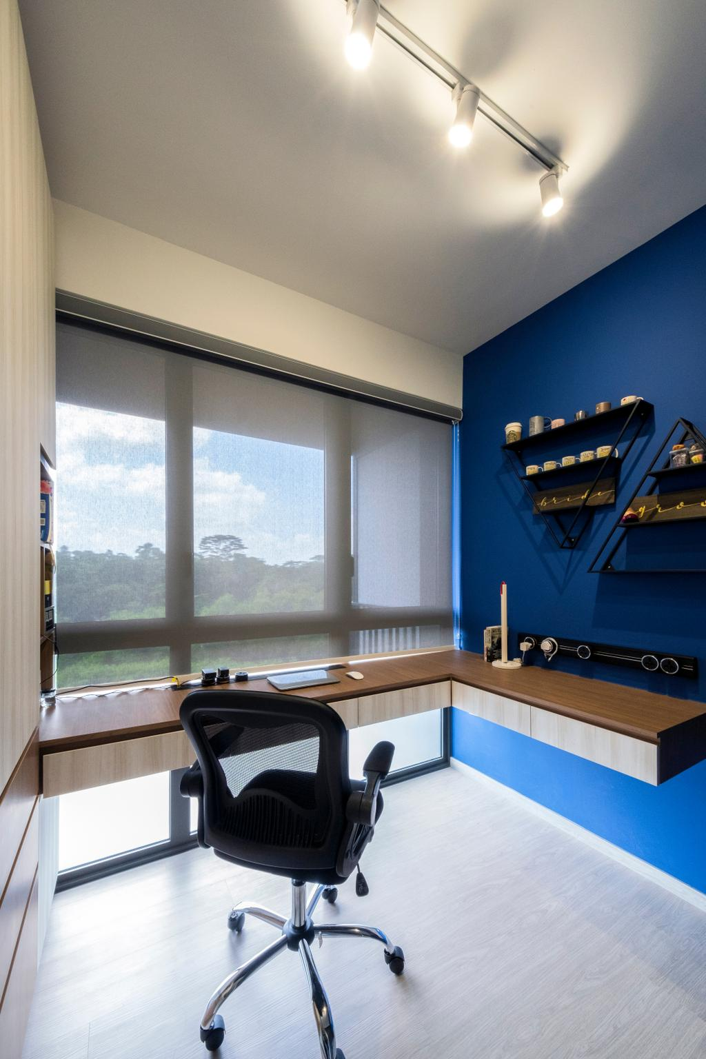 Scandinavian, Condo, Study, iNz Residence, Interior Designer, Starry Homestead