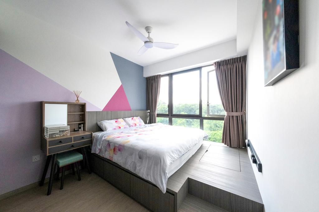Scandinavian, Condo, Bedroom, iNz Residence, Interior Designer, Starry Homestead