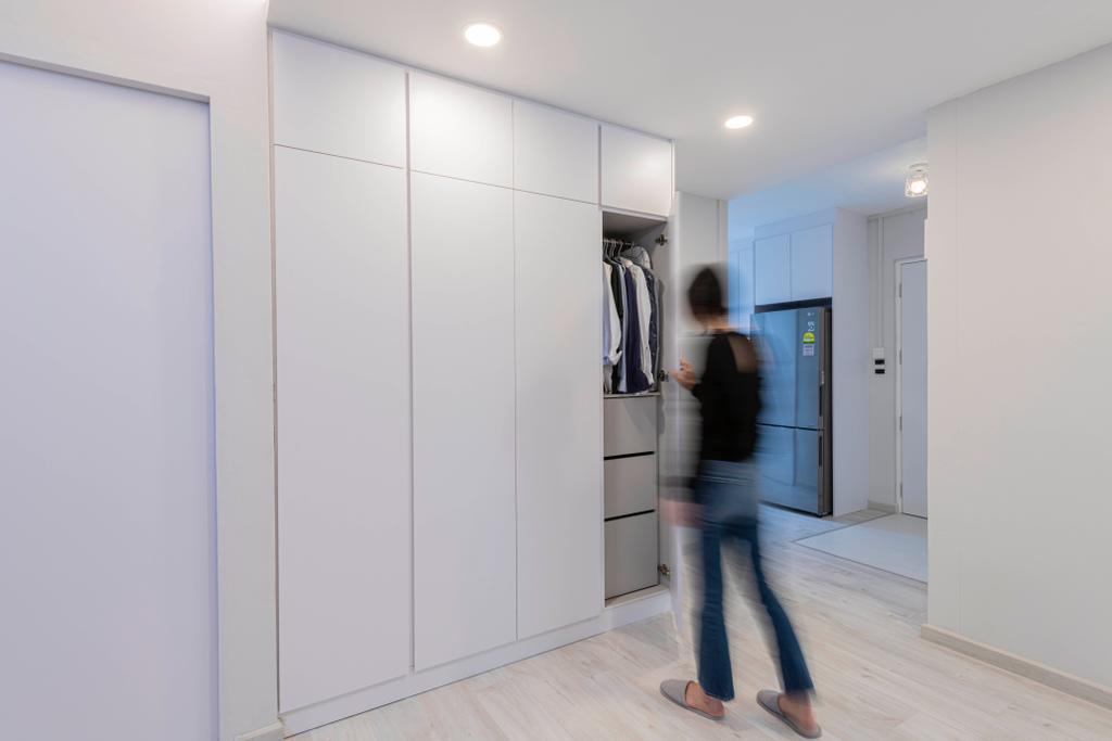 Scandinavian, HDB, Living Room, Clementi Avenue 2, Interior Designer, Metier Planner, Contemporary