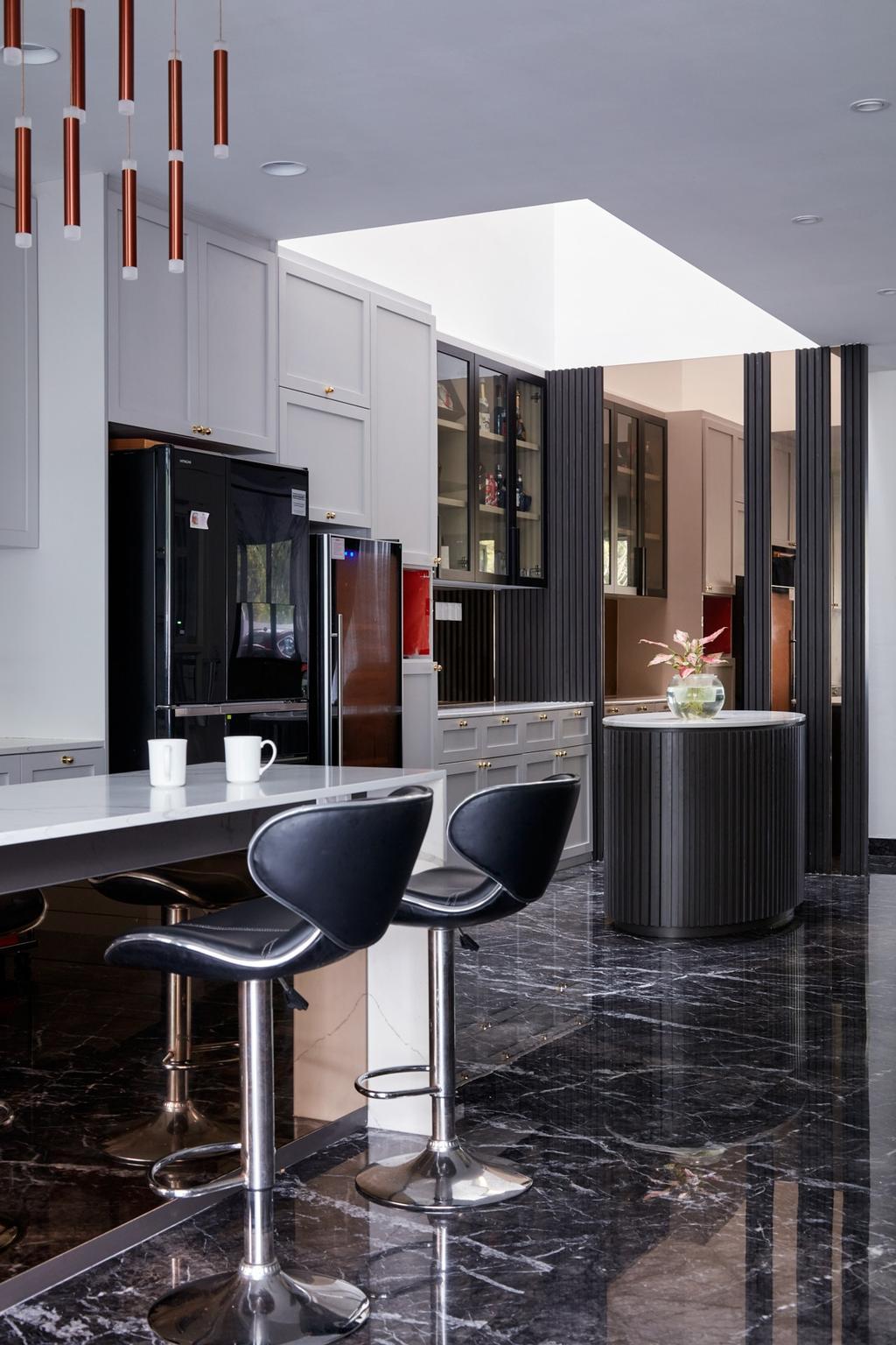 Modern, Landed, Dining Room, Kerong Walk, Interior Designer, Free Space Intent