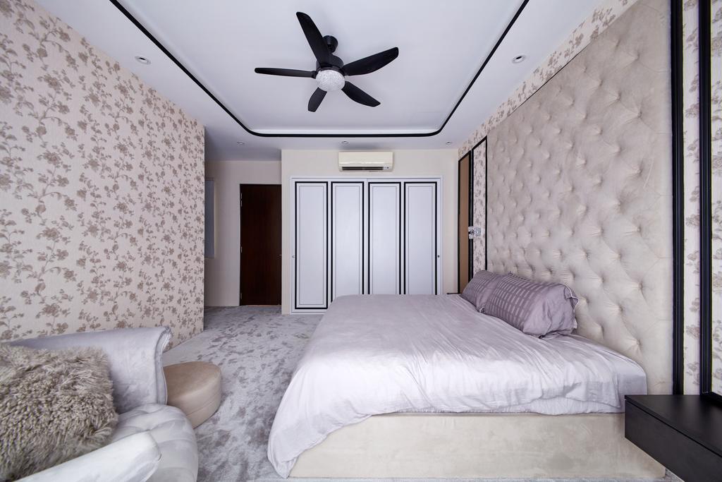 Modern, Landed, Bedroom, Kerong Walk, Interior Designer, Free Space Intent