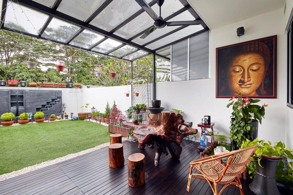 Modern, Landed, Garden, Kerong Walk, Interior Designer, Free Space Intent
