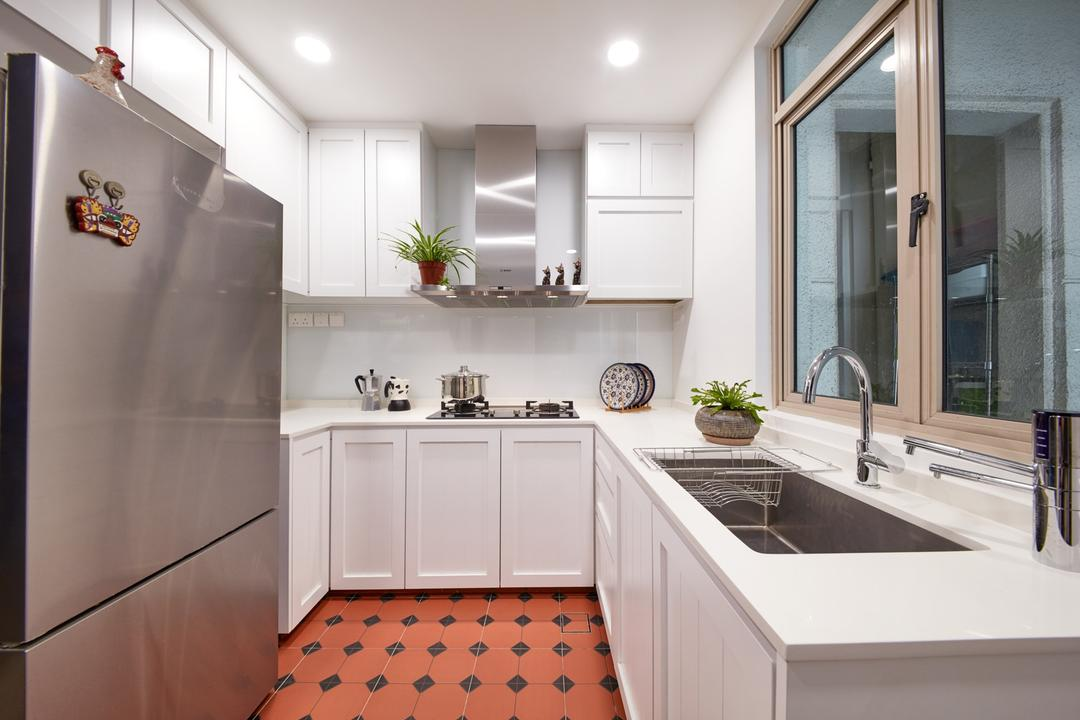 Costa Rhu, Free Space Intent, Eclectic, Traditional, Kitchen, Condo