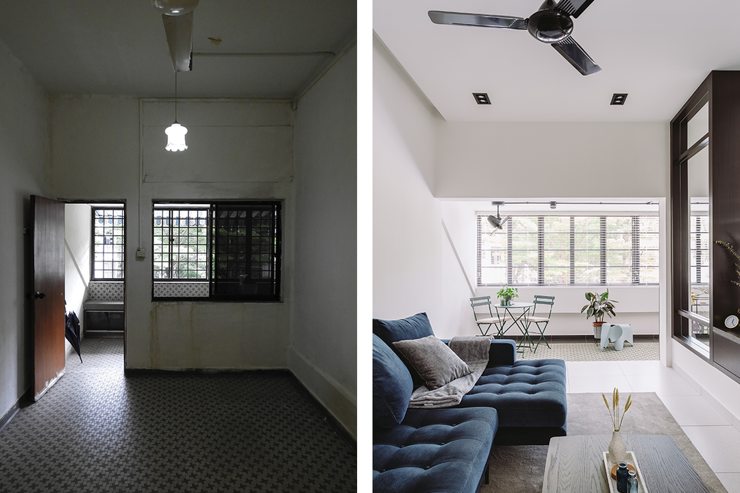 differences renovating HDB flat condomnium resale HDB