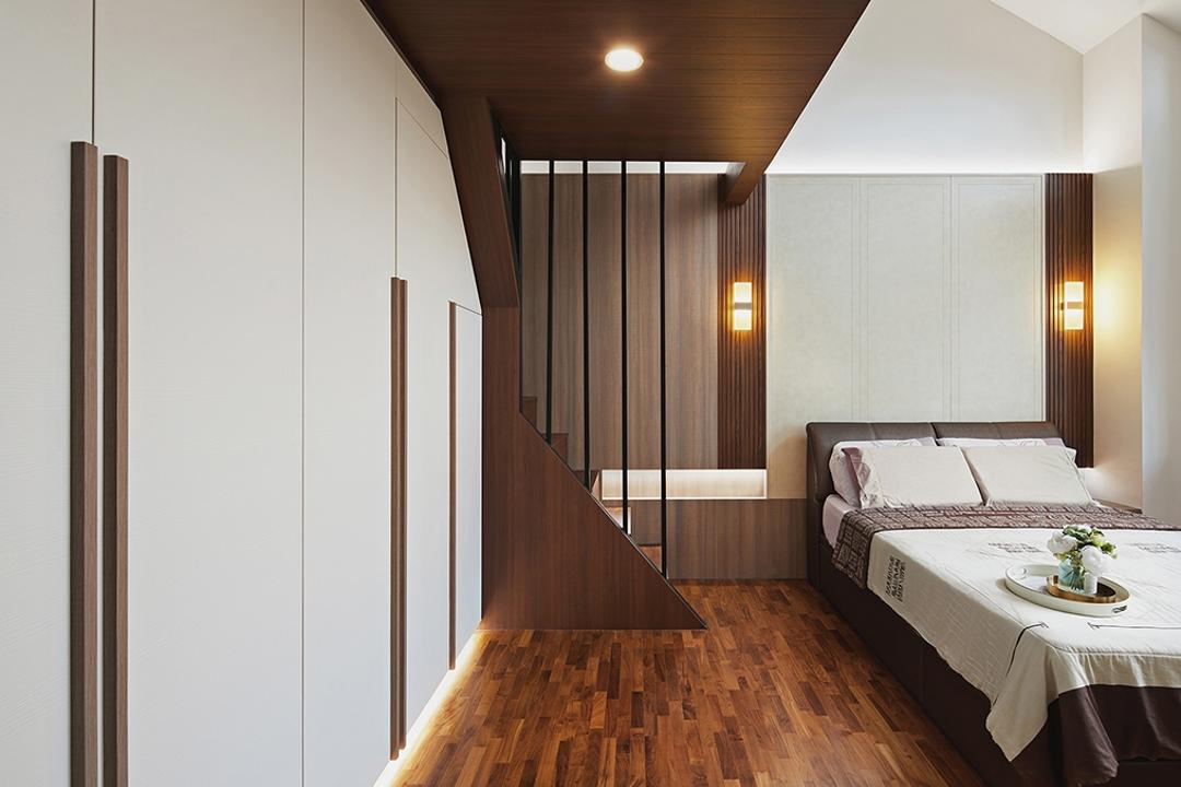 Thomson Road, BLACK N WHITE HAUS, Modern, Bedroom, Landed