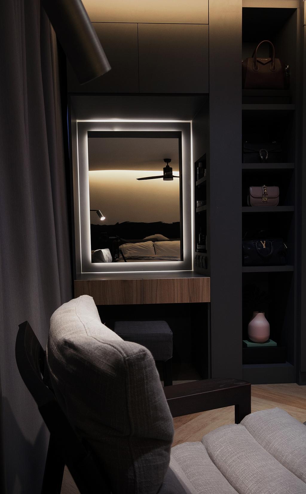 Scandinavian, HDB, Bedroom, St George's Road, Interior Designer, Fifth Avenue Interior