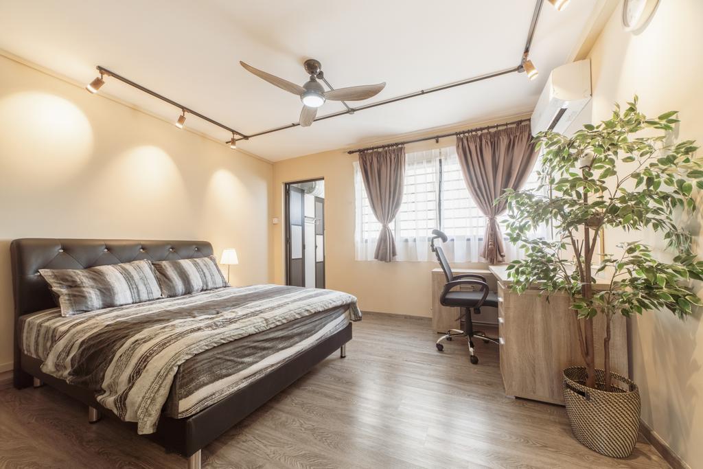 Modern, HDB, Bedroom, Bedok Reservoir Road, Interior Designer, Design 4 Space, Eclectic